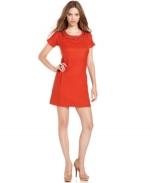 Tina's orange dress at Macys at Macys
