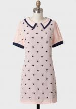 Tina's pink heart dress at Ruche
