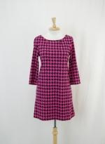 Tina's pink houndstooth dress on ebay at Ebay