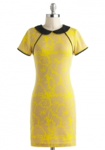 Tina's yellow dress at ModCloth at Modcloth