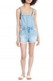 Tinsel Denim Short Overalls   Nordstrom at Nordstrom