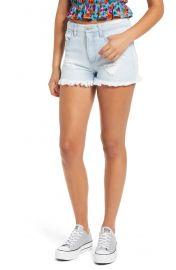 Tinsel Distressed Denim Shorts at Nordstrom