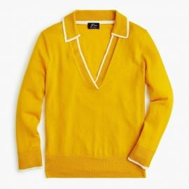 Tipped Polo Sweater by J. Crew at J. Crew
