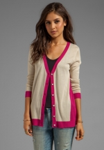 Tipped cardigan by LA Made at Revolve