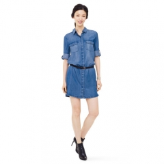 Tippi Denim Dress at Club Monaco