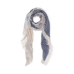Tippi Striped Scarf at Club Monaco