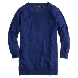 Tippi Sweater in Midnight at J. Crew
