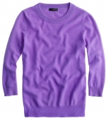 Tippi sweater from J Crew in fresh purple at J. Crew