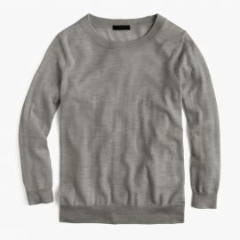 Tippi sweater in hthr smoke at J. Crew