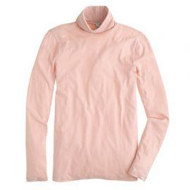 Tissue turtleneck tee in pink at J. Crew