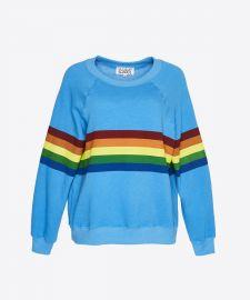 Todays Hits & Yesterdays Favorites Rainbow Sweatshirt by Saturday School at Saturday School