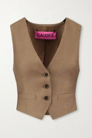 Toluca wool and cashmere-blend vest at Net a Porter