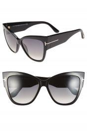 Tom Ford Anoushka 57mm Gradient Cat Eye Sunglasses   Nordstrom at Nordstrom