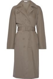 Tomas Maier   Wool-gabardine trench coat at Net A Porter