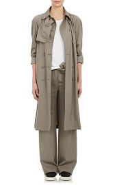 Tomas Maier Gabardine Double-Breasted Trench Coat at Barneys