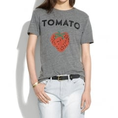 Tomato Tee at Madewell