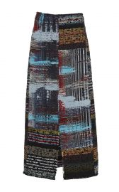 Tome tweed midi skirt at Moda Operandi