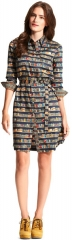 Tommy Hilfiger Book Print Shirtdress at Macys