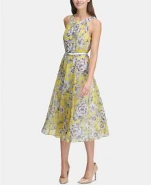 Tommy Hilfiger floral dress at Macys