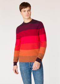 Tonal Stripe Sweater at Paul Smith