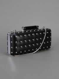 Tonda studded clutch by Diane von Furstenberg at Farfetch