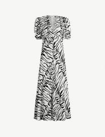 Tonya tiger-print crepe maxi dress at Selfridges