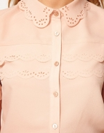 Top with laser cut collar like Maggies at Asos