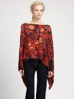 Top with the same print at Saks Fifth Avenue
