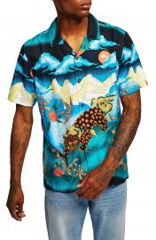 Topman Foo Dog Classic Fit Shirt at Nordstrom