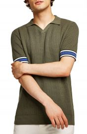 Topman Revere Collar Polo at Nordstrom