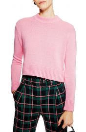 Topshop Cash Ottoman Crop Sweater   Nordstrom at Nordstrom
