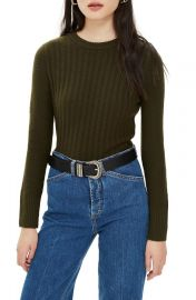 Topshop Rib Sweater   Nordstrom at Nordstrom