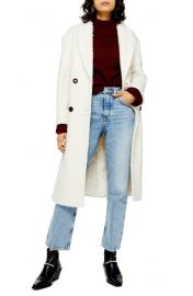 Topshop Boucle Coat at Nordstrom