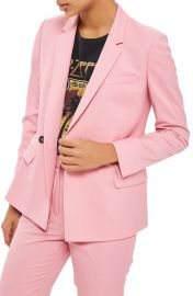 Topshop Double Breasted Suit Jacket at Nordstrom