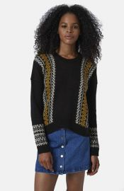 Topshop Fair Isle Sweater at Nordstrom