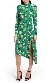 Topshop Floral Chuck On Midi Dress   Nordstrom at Nordstrom