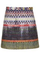 Topshop Ikat Patterned Skirt at Nordstrom