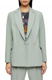 Topshop Kiki Double Breasted Blazer   Nordstrom at Nordstrom