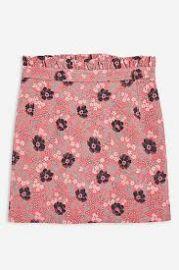 Topshop Poppy Jacquard Skirt at Topshop