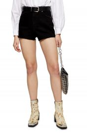 Topshop Premium Denim Mom Shorts   Nordstrom at Nordstrom