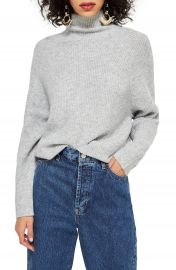 Topshop Raglan Turtleneck Neck Sweater   Nordstrom at Nordstrom