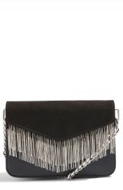 Topshop Remy Chain Flap Faux Leather Crossbody Bag at Nordstrom