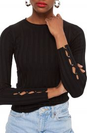Topshop Ribbed Sweater   Nordstrom at Nordstrom