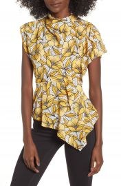 Topshop Ruffle Blouse  Petite at Nordstrom