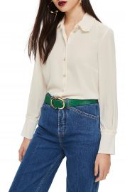 Topshop Ruffle Collar Shirt   Nordstrom at Nordstrom
