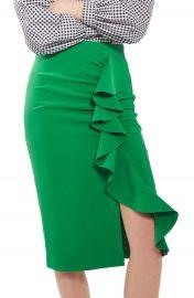 Topshop Ruffle Pencil Skirt at Nordstrom