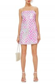 Topshop Sequin Mini Slipdress at Nordstrom