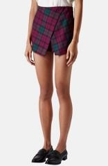 Topshop Tartan Plaid Skort at Nordstrom
