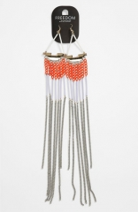 Topshop Tube Chain Earrings at Nordstrom