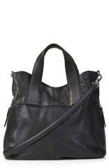 Topshop and39Albaand39 Leather Hobo Bag at Nordstrom
